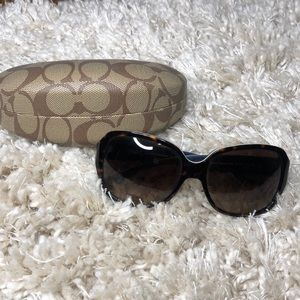 Coach sunglasses. Never worn